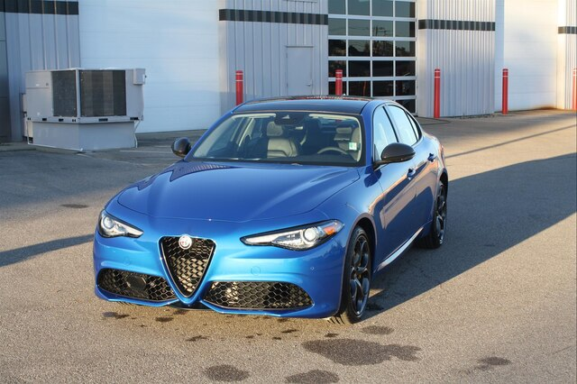 New 2019 Alfa Romeo Giulia Ti Sedan In New Whiteland A1093 Ray