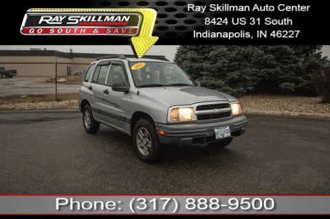 Pre-Owned 2003 Chevrolet Tracker ZR2